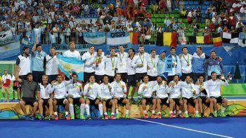los leones le ganaron 4 a 2 a belgica y ganaron el oro