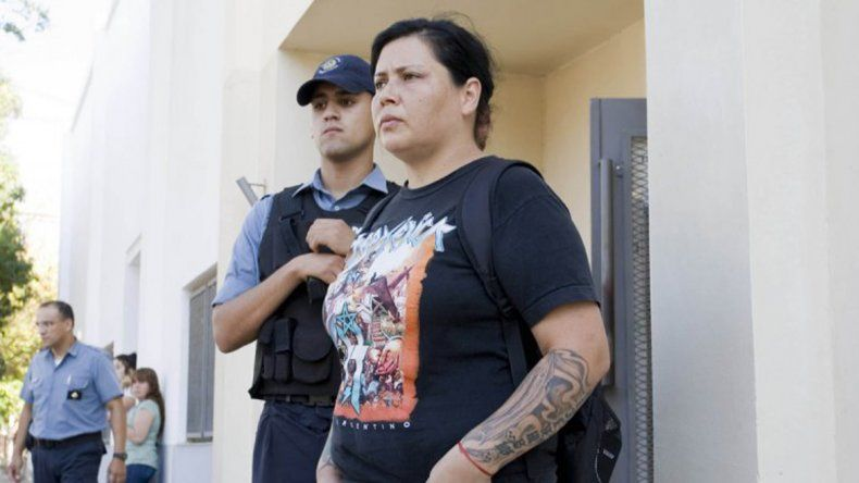 Andrea Valenzuela tuvo una custodia policial durante casi cinco años.