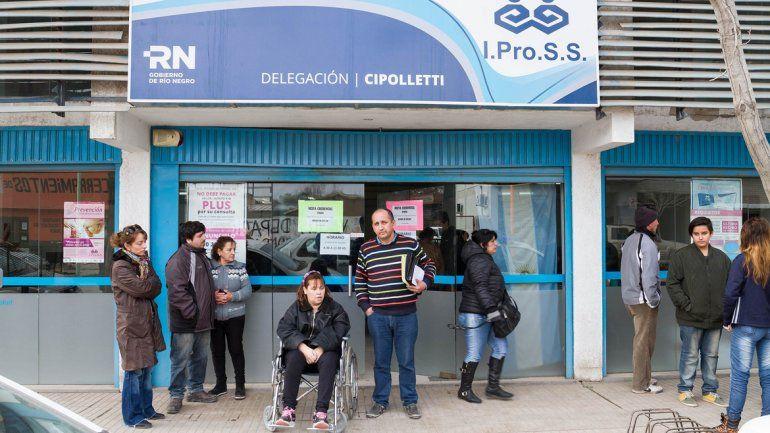 La mayor parte de la deuda que reclaman a Ipross es por prestaciones en las sedes del Valle.