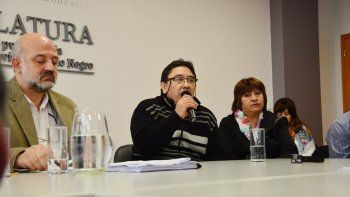 Familiares de Muñoz participaron de la presentación del proyecto.