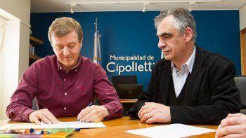 Tortoriello y Crisafulli ratificaron la vieja intención de vincular al Municipio con la Universidad del Comahue.