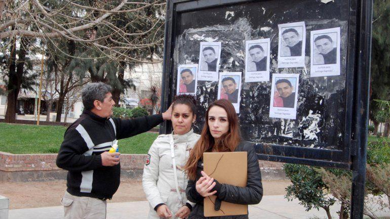 Los familiares de Santiago Sagredo esperan respuestas de la Justicia.