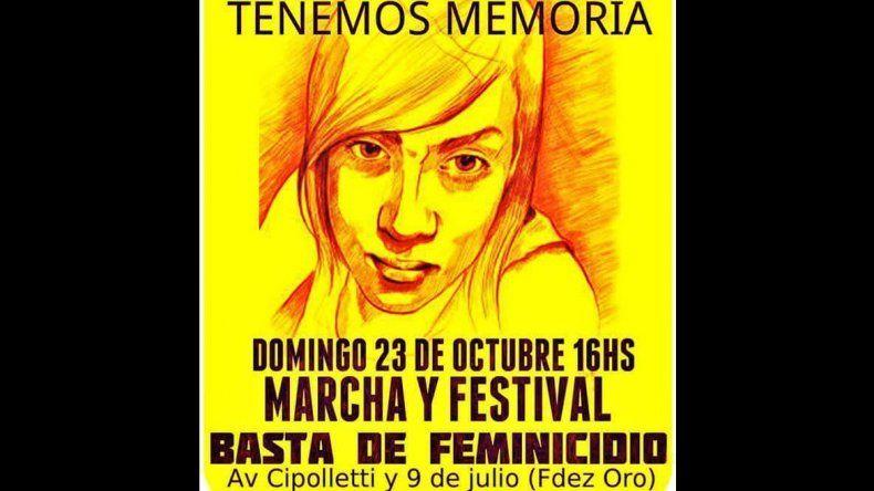 Marcha por los 10 años del femicidio de Otoño Uriarte