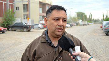 Romero detalló el avance de los trabajos en el parque industrial.