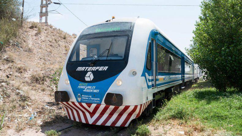 El tren de pasajeros recorrería todas las ciudades del valle