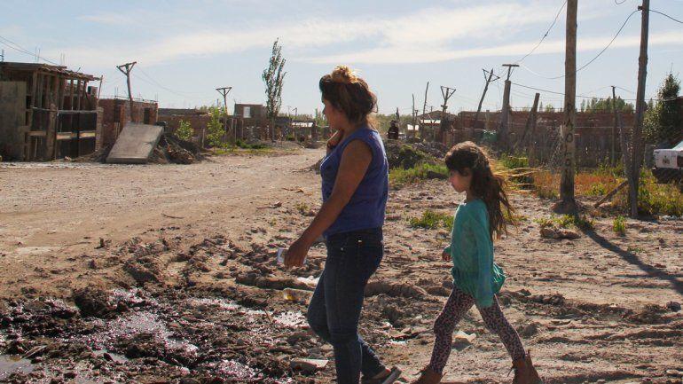 Los asentamientos son el último recurso de miles de vecinos.