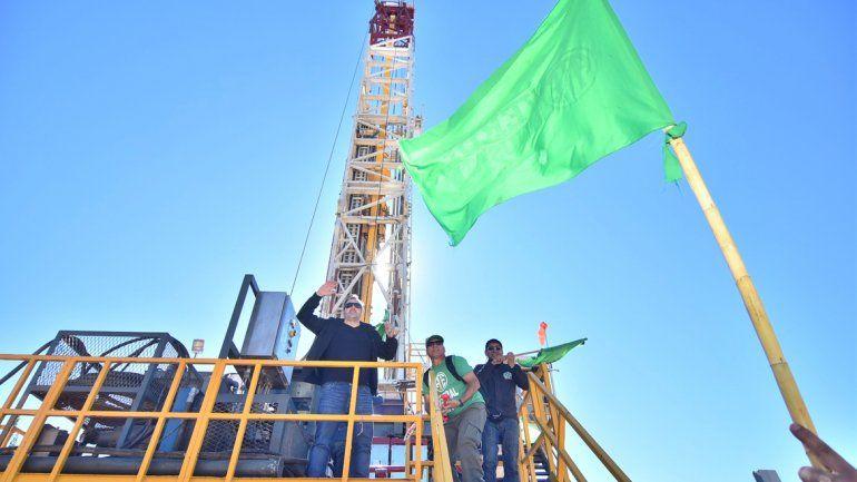 Los dirigentes de ATE coparon la planta petrolera de YPF en Allen.