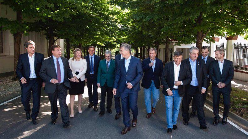 Weretilneck y otros gobernadores
