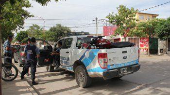 La moto utilizada por el adolescente fue secuestrada por la Policía.