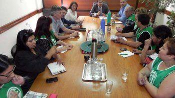 Hoy se concretó el encuentro entre integrantes del Ministerio de Educación y el gremio ATE.