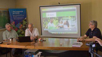 La presentación del plan se llevó a cabo ayer en las instalaciones de la Secretaría de Fruticultura, en Allen.
