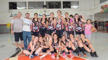 Temporada tricolor en el básquet femenino