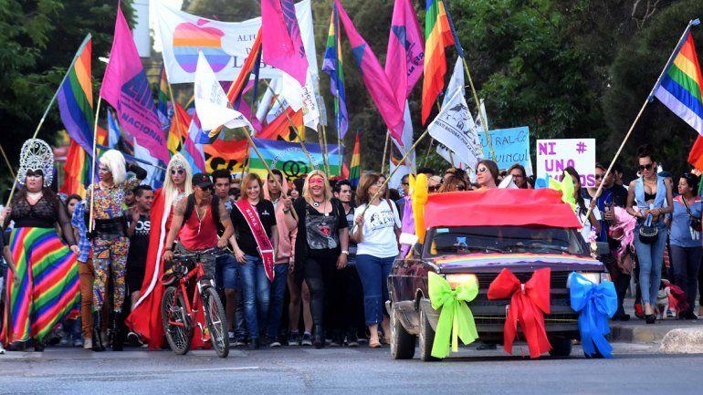 Se viene una nueva edición de la Marcha del Orgullo en la región