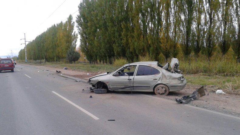 Trabajador petrolero perdió la vida en un vuelco en Villa Manzano