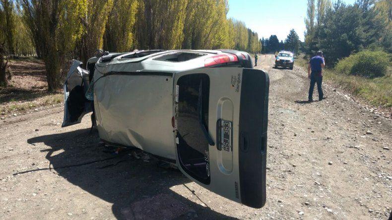 Accidente en el límite entre Junín y San Martín de los Andes.