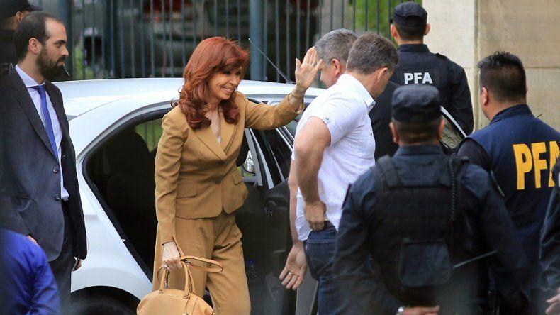 Cristina declaró ante Ercolini alrededor de dos horas