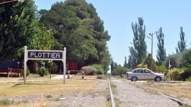 La estación de Plottier será parada obligada del trayecto del nuevo tren.