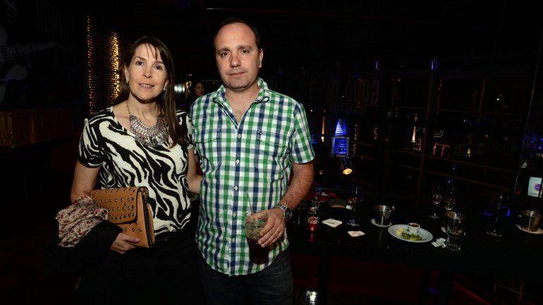 Jorge Tibaldi y su señora
