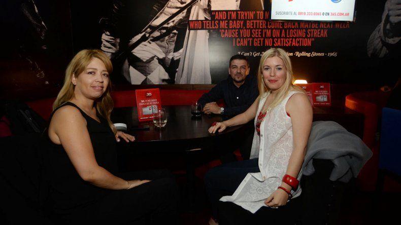 Integrantes del staff comercial de Canal 7 y de Saturno Hogar disfrutaron de la presentación.