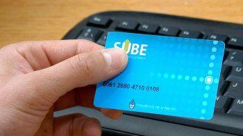 La SUBE se podrá cargar desde el teléfono, por home banking o por cajero.