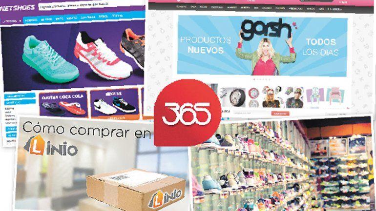Las tiendas online cuentan con una enorme cantidad de rubros y toda clase de productos.