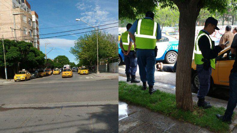Quisieron linchar a un delincuente que le robó el auto a una taxista en Neuquén