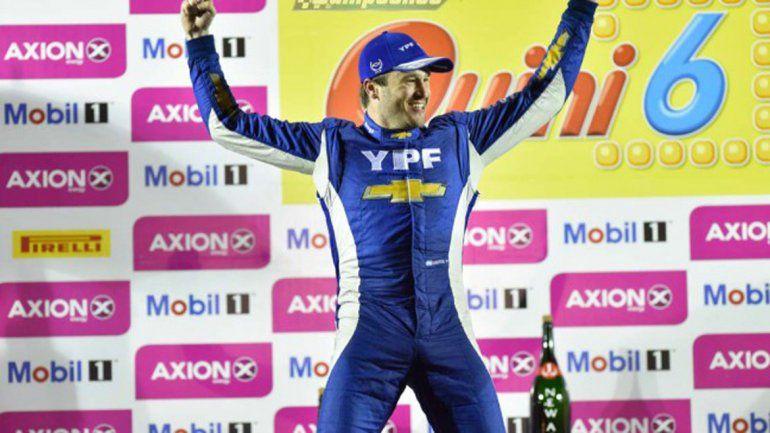 Urcera quedó quinto en la clasificación del Súper TC200