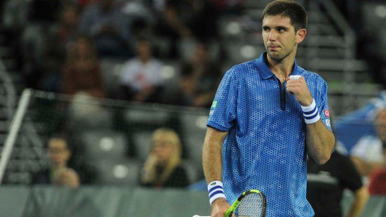 Delbonis define ante Karlovic el punto final de la Copa Davis