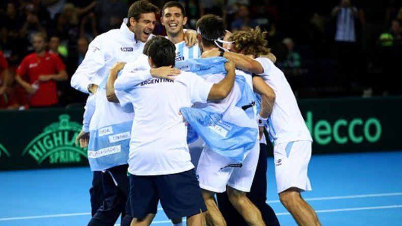 ¡Histórico! Argentina logró su primera Copa Davis tras el triunfo de Delbonis ante Karlovic