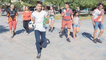 Matías Moya: La gente me recibió muy bien en el barrio