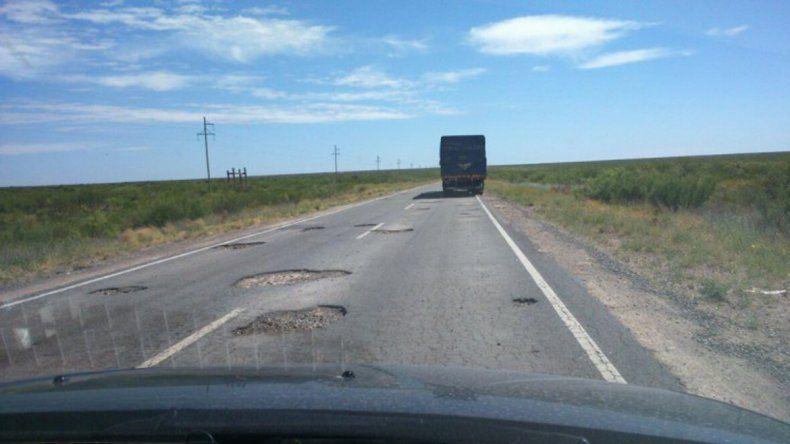 Odarda reclamó por el arregló de la Ruta Nacional 151