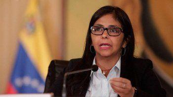 Dura respuesta a Macri de la canciller de Venezuela