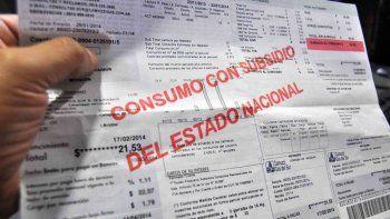 Las quitas de subsidios seránmenores para la Patagonia.