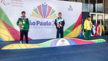 Jornada consagratoria para Lazcano en Brasil, donde fue el mejor de los 100 metros libres y tercero en mariposa.
