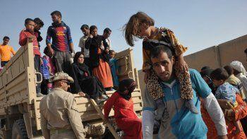 El combate entre las fuerzas iraquíes y el Estado Islámico continúa.