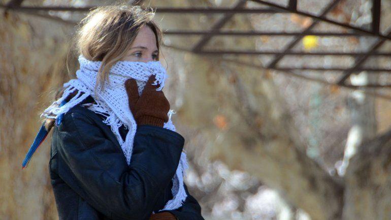 La semana arranca con bajas temperaturas en todo el Valle