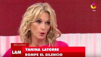Yanina Latorre: La infidelidad se perdona