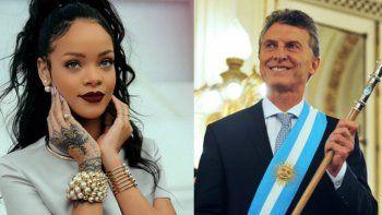 El presidente Macri le contestó a Rihanna tras  sus dichos en Twitter