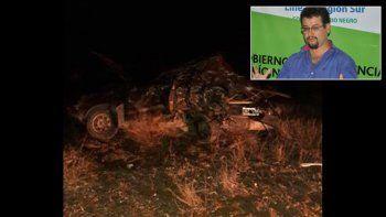 Murió en un choque en la Ruta 23 el intendente de Maquinchao