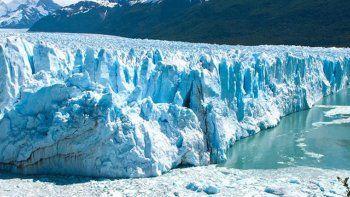 El glaciar Perito Moreno, una de las reservas de agua más grandes.