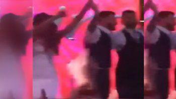 El imperdible baile de Messi y el Kun al ritmo de la Princesita