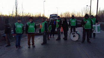 los trabajadores de cippa levantaron el corte de ruta