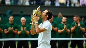 El más grande: Federer se consagró rey en el césped de Wimbledon