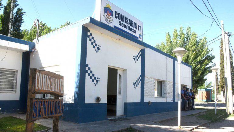 La Comisaría 11 de Senillosa.