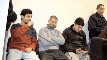 Luciano Hernández, Osvaldo Castillo y Diego Marillán, los acusados del aberrante crimen con rastros ritualistas.