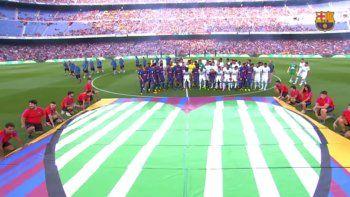 El Barça goleó 5 a 0 al Chapecoense durante su homenaje