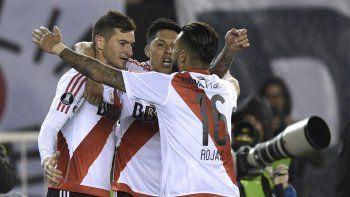 Alario, el hombre de los goles importantes, volvió a aparecer por la Libertadores.