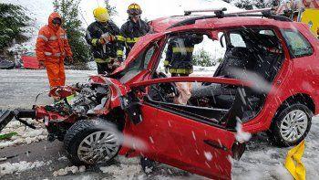 Giallombardo sigue internado en coma inducido tras el choque