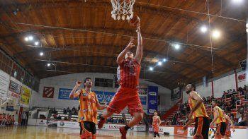 El primer partido en La Caldera lo ganó el Rojo 68 a 67.