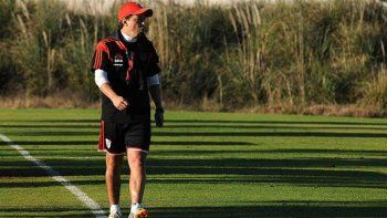 Gallardo concentra desde hoy junto al plantel en Cardales, para planificar la vuelta de la Copa. Como en 2015.